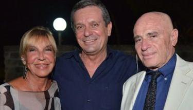 Lino Fabrizi con i Vianella, alias Wilma Goich ed Edoardo Vianello (www.viphoto.it)